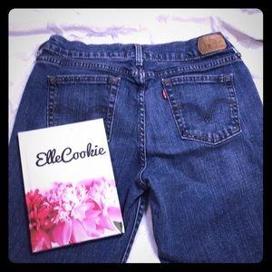 LEVI'S 505 Straight Leg Denim Jeans